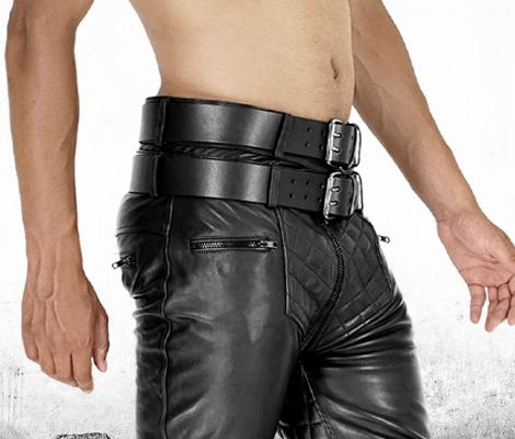 Schwul lederhosen männer in Männer in